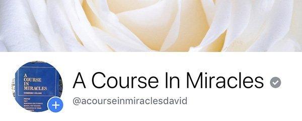 ACIM Facebook Page